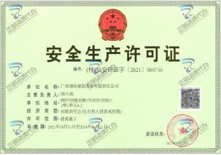 柳州-建筑劳务公司安全生产许可证